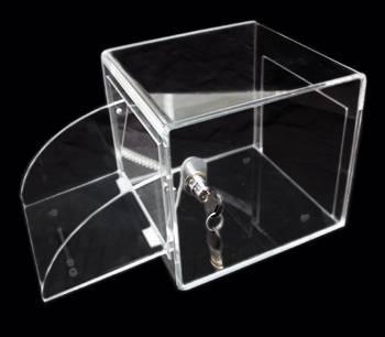 Caja de Acrílico con llave