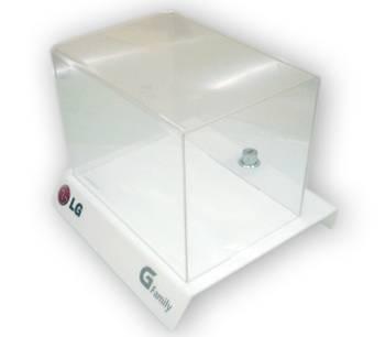Caja Display de acrílico para LG