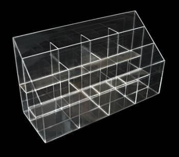 Caja acrílico con separadores